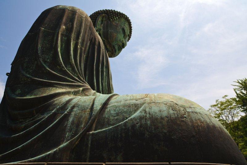 Beside the Great Buddha