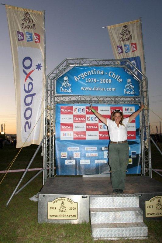 Monica Pino de Scotto - Dakar 2009 - Cordoba