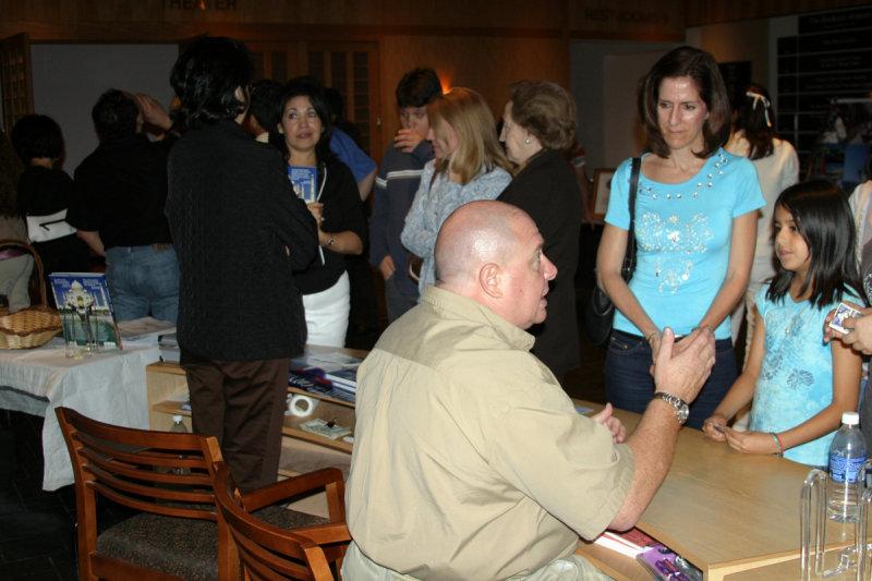 Motivational speaker Emilio Scotto, at the Morikami Museum