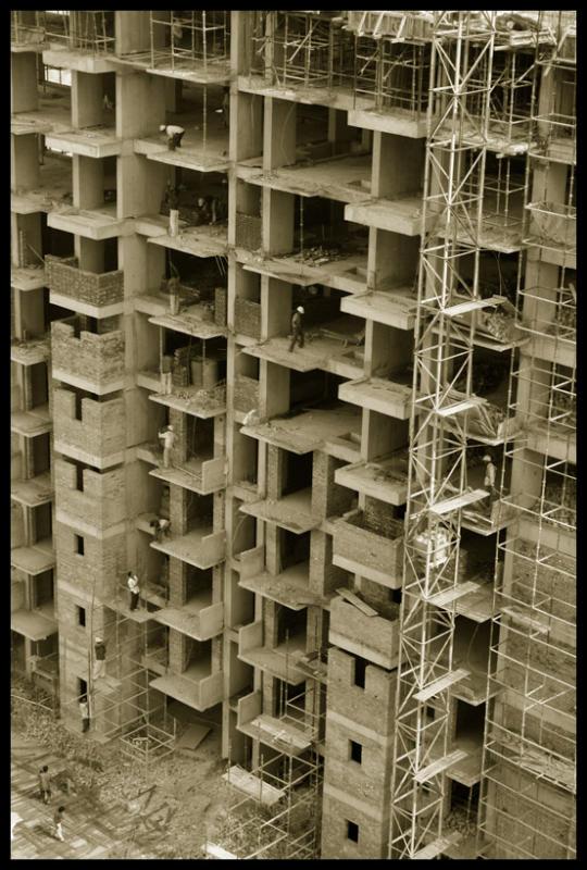 Transportation in construction, Gurgaon