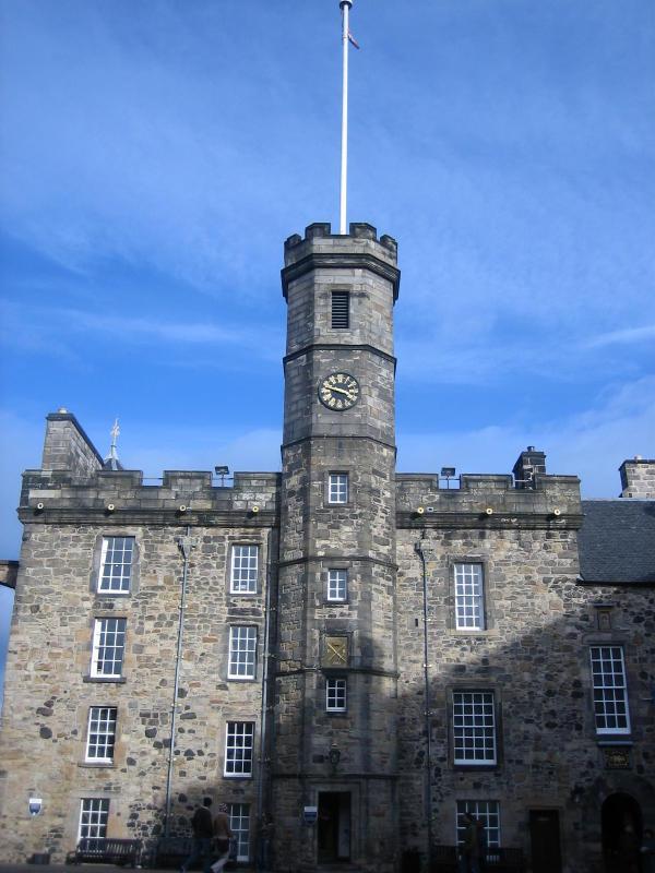 vertices of Edinburgh Castle