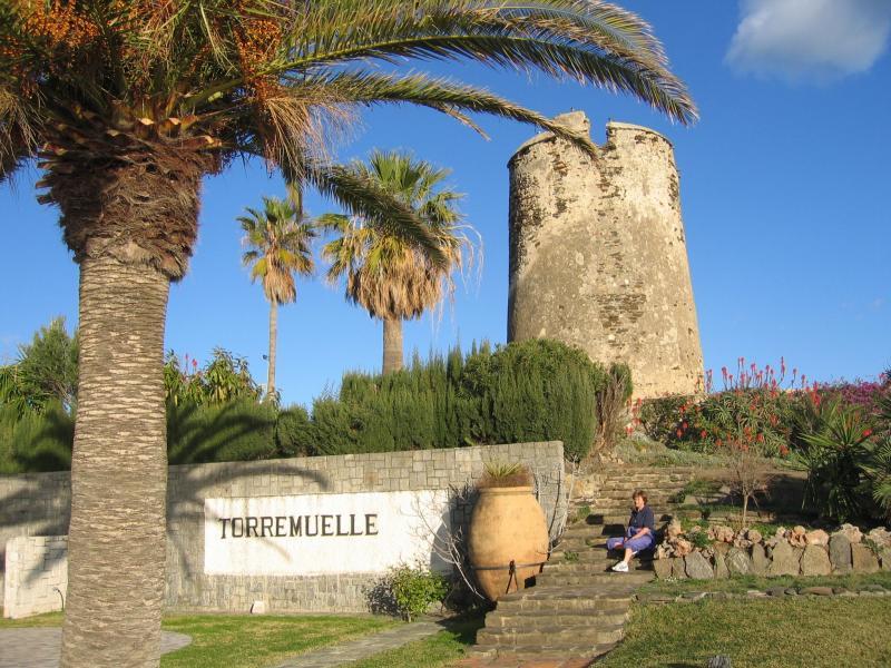 The Torremuelle watch tower