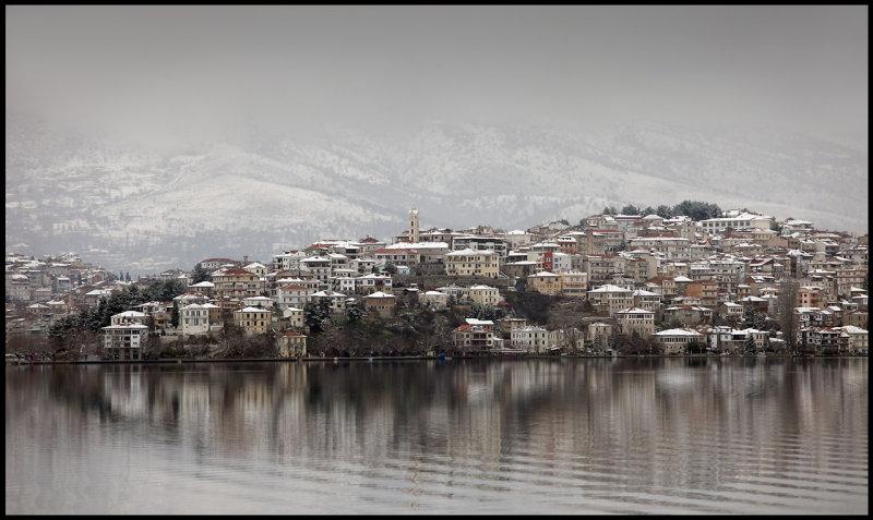 Kastoria close to Albanian border