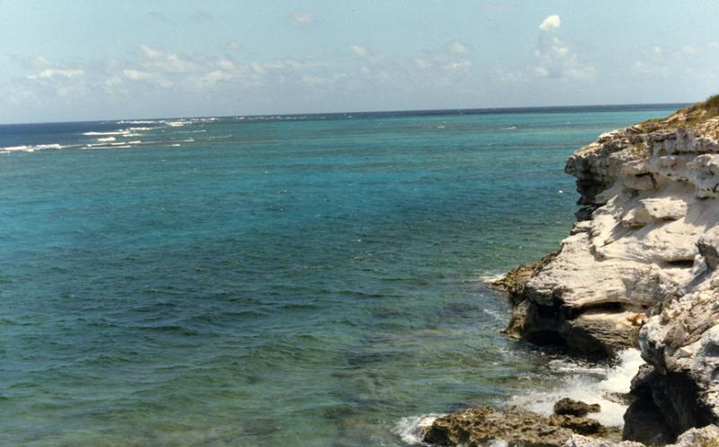 Beach View on North End, By The Old Naval Station, Grand Turk, Turks & Caicos Islands, British West Indies