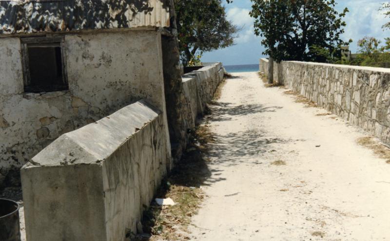 A Street In Grand Turk, Turks & Caicos Islands, BWI