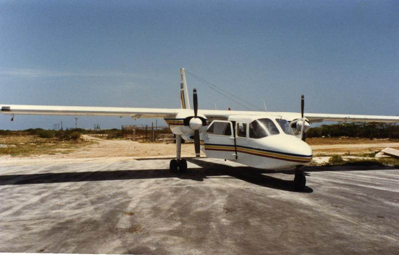 A Britten Norman Islander...Ugly, But Good In The Islands