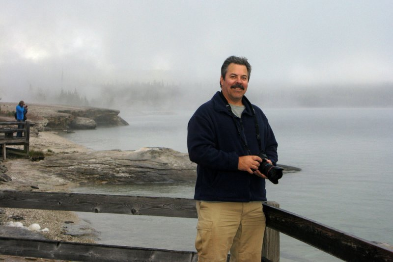 Me at Yellowstone Lake