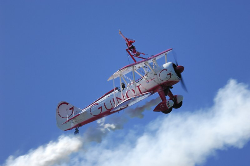 Guinot Wing Walkers over Laxey Bay
