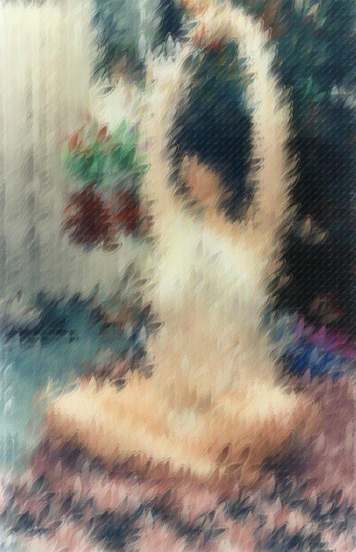 Mel Nude Watercolor