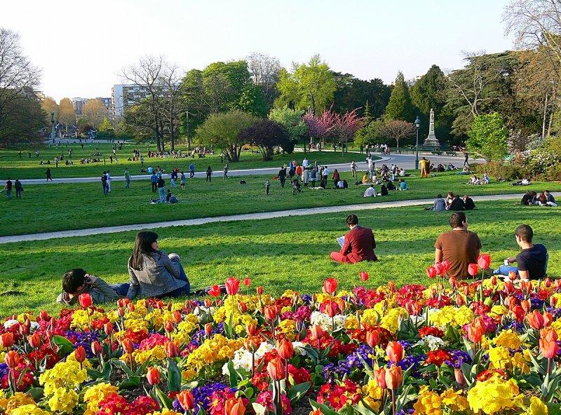 April in Paris - Parc Montsouris