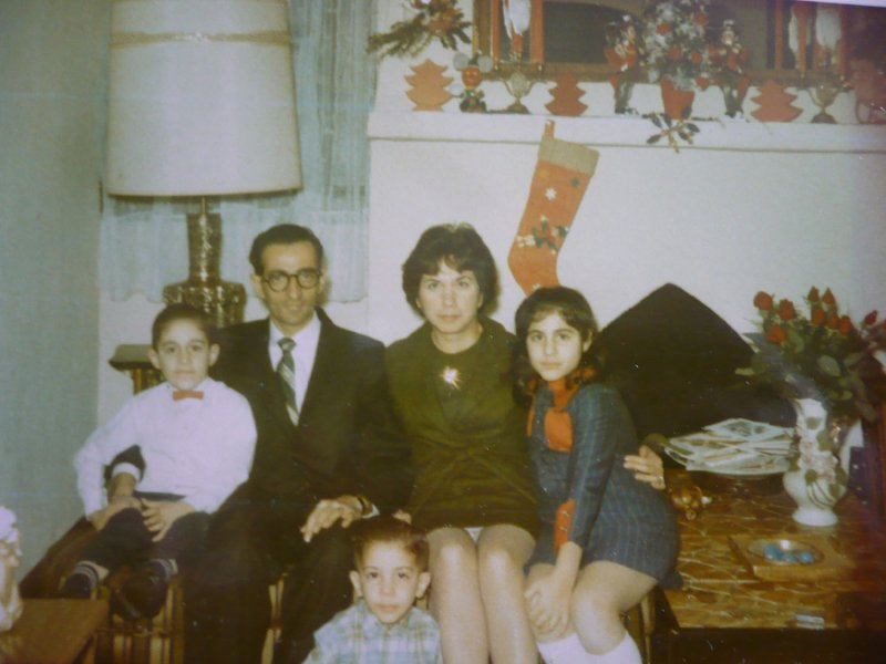 Us at our grandparents home - 1960s