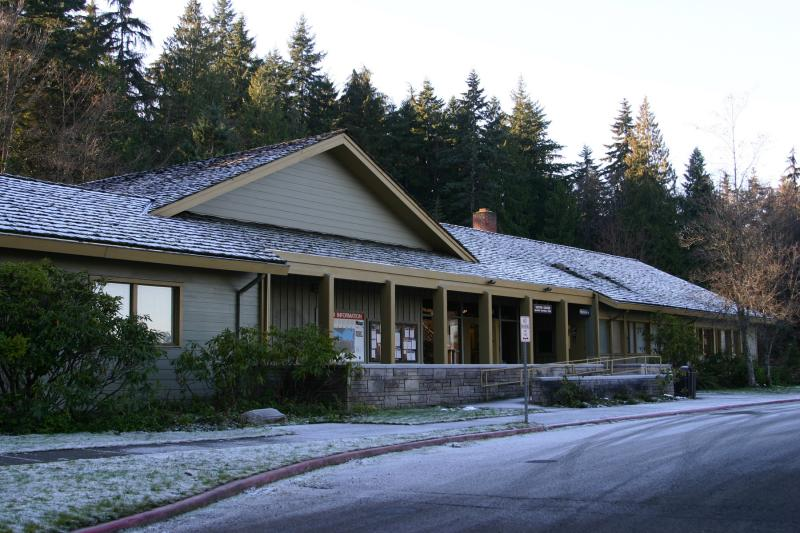 Olympic NPs Visitor Center