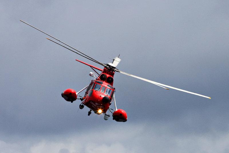 Coastguard Fly-by