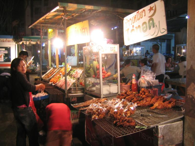 seafood booths