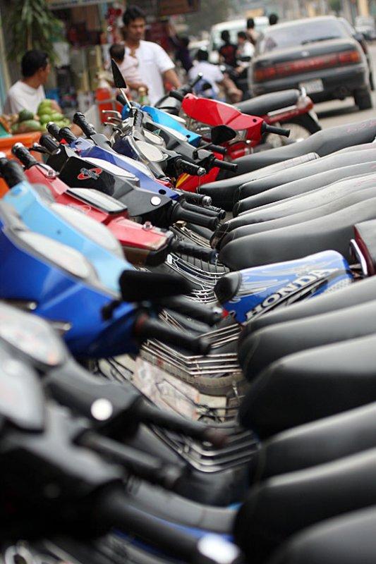 Motorbike every where ...