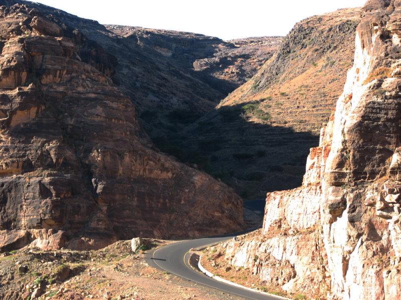 Road to Kawkaban