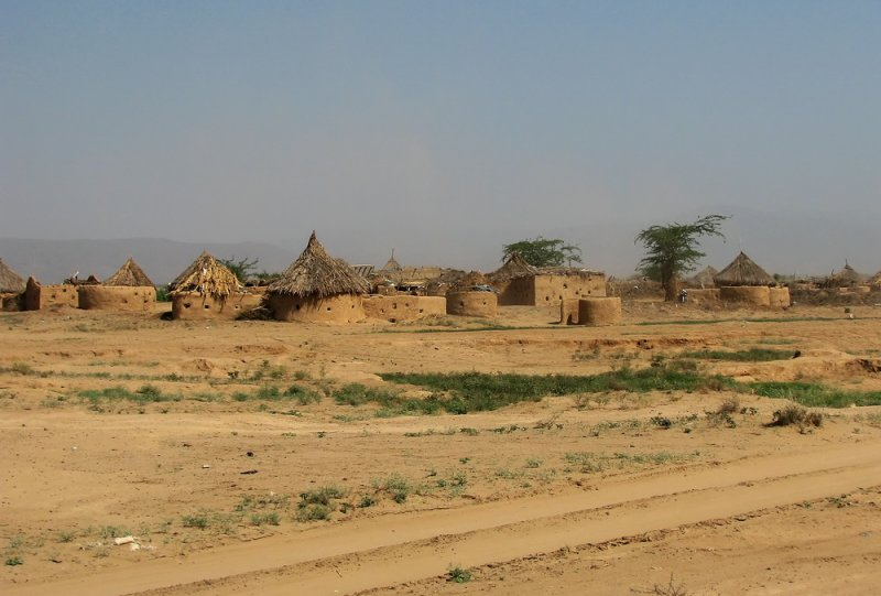 Typical village Wadi Mawr Tihamah