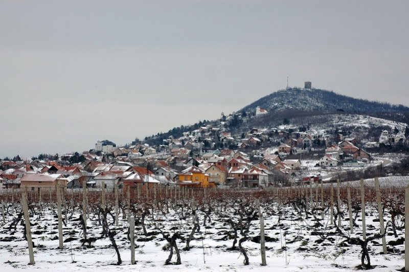 Winter in Vrsac