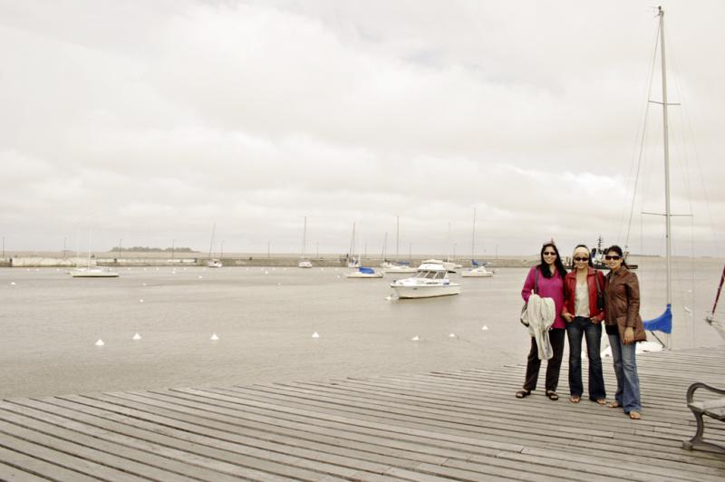 Colonia Harbour on the Rio de la Plata