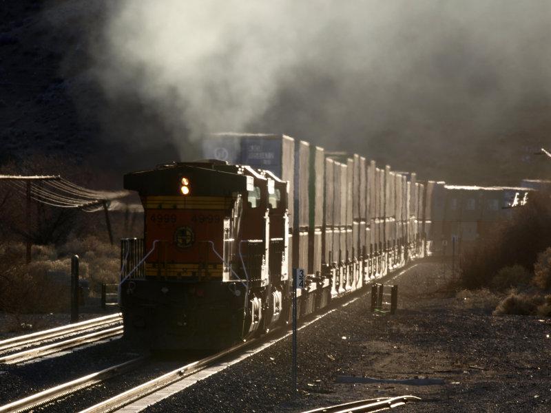 Pusher on Tehachapi Pass