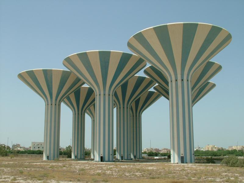 Side View Bayan Towers Kuwait.JPG