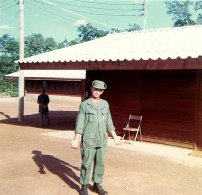 First NCOIC NKP K-9 TSgt. Shackleford-1968