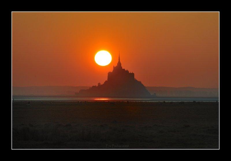 Sunset au Mont st Michel (EPO_6576)