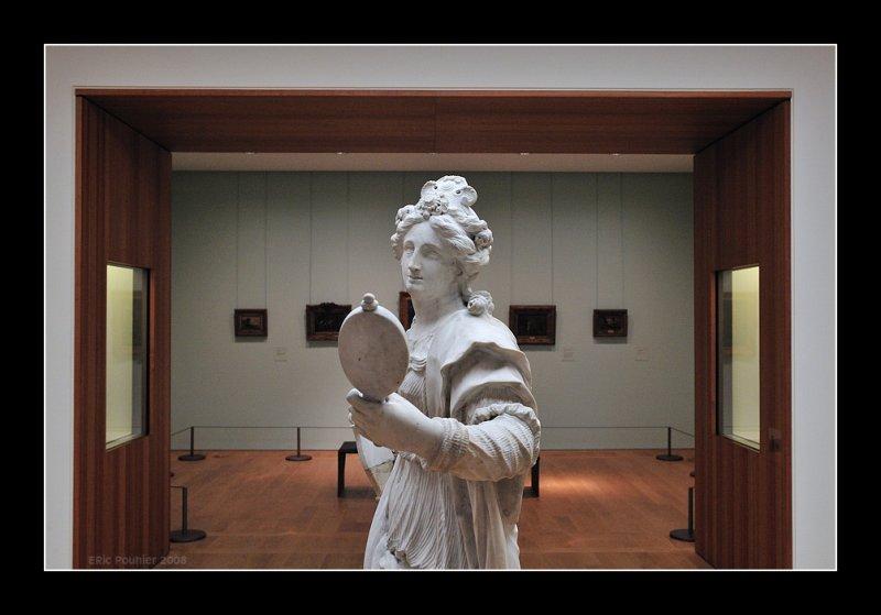 La dame au miroir