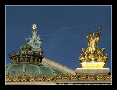 Detail du Palais Garnier - Paris