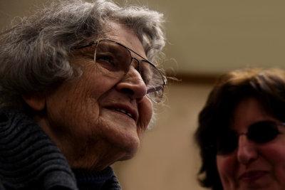 celebrating Jean's 90th birthday