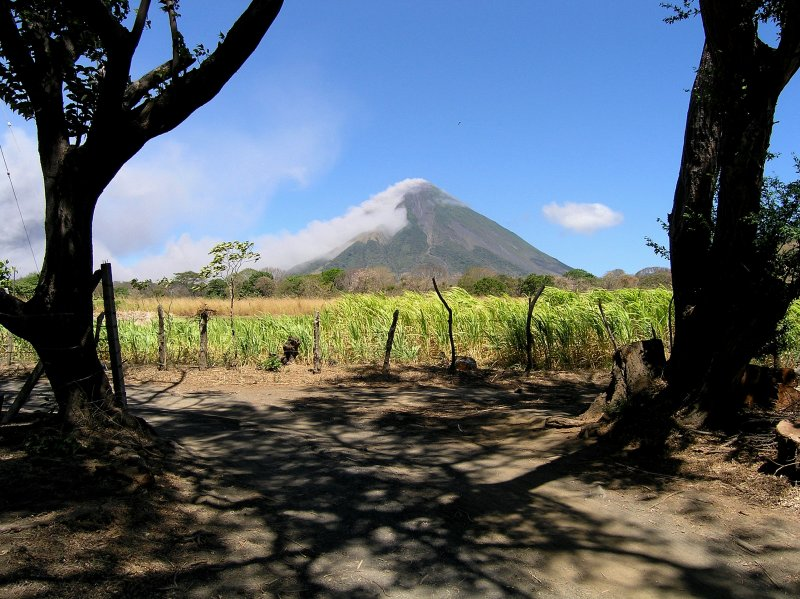 ...as Volcan Concepcion is presently showing its power.....