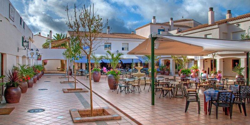 Outdoor cafe, La Manga