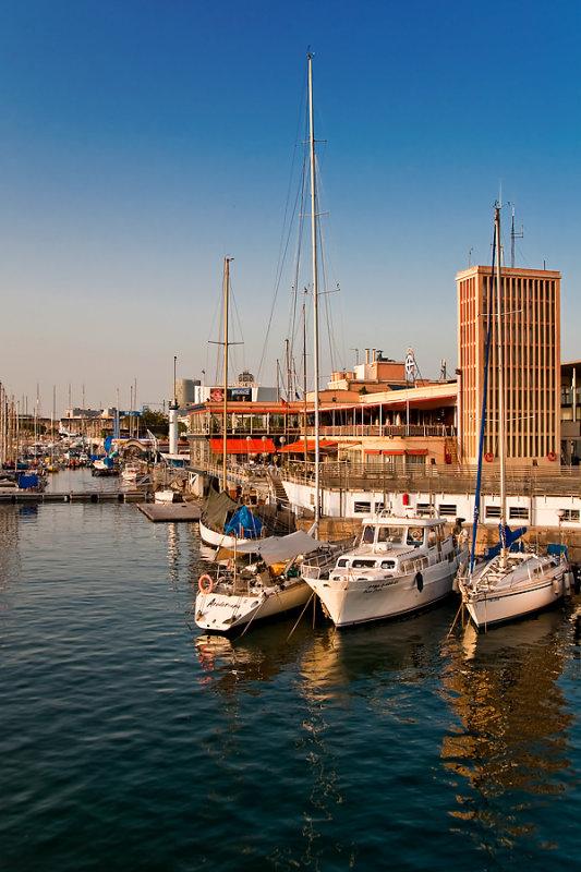 Boats and marina, Barcelona