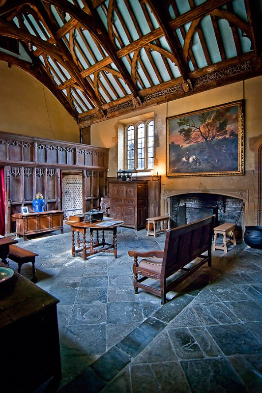 Great Hall, Lytes Cary, Somerset