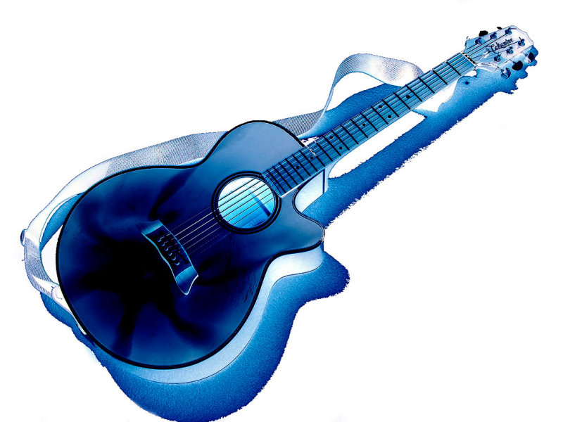 Takamine in blue