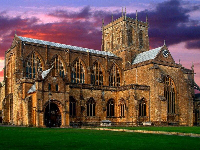 Sherborne Abbey, Sherborne, Dorset (3061)