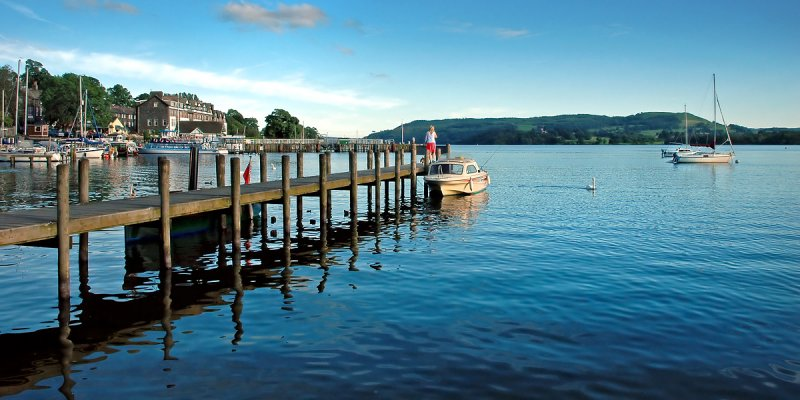 Jetty at The Waters Edge, Ambleside (4267)