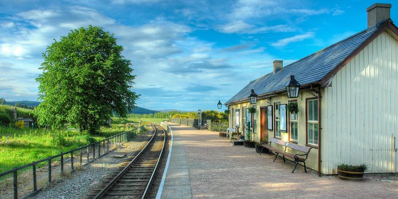 Broomhill (a.k.a. Glenbogle) station, Invernesshire