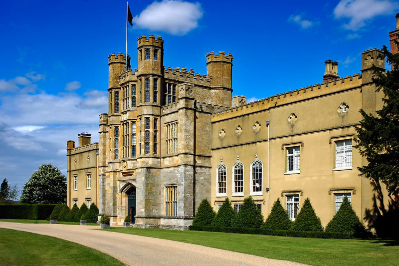 Coughton Court ~ drive and main entrance