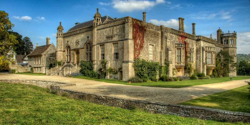 Lacock Abbey ~ front entrance