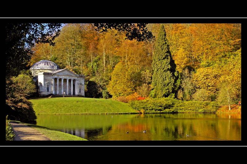 Autumn colour, Stourhead, Wiltshire