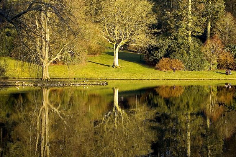 Admiring the view ~ Stourhead