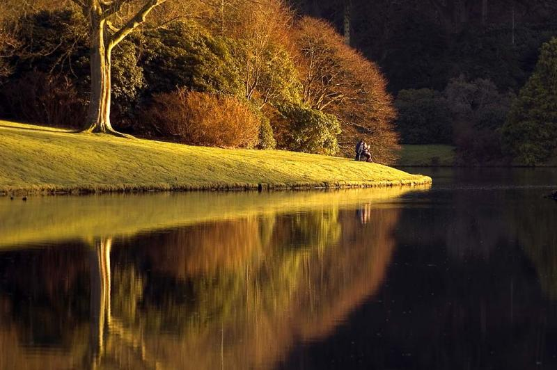 Getting to the point ~ Stourhead (2416)