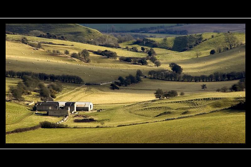Farmland near Hardys Monument