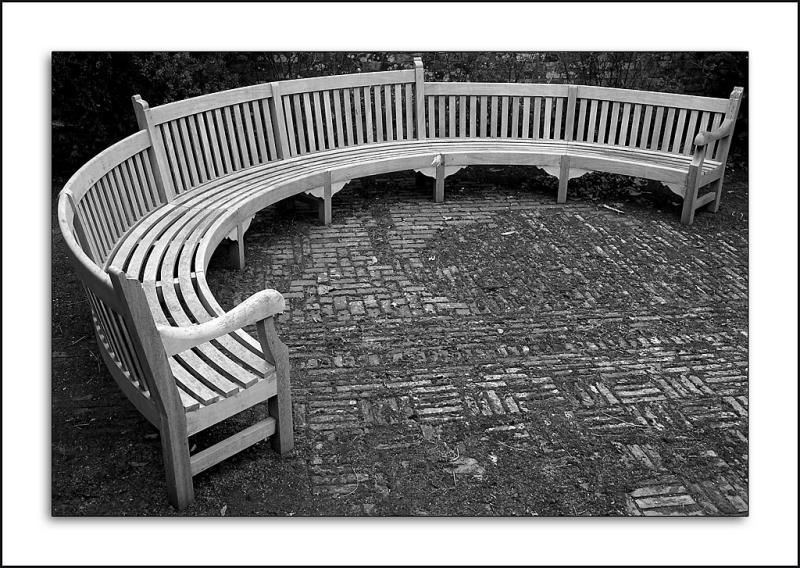 The bench, Barrington Court