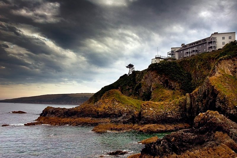 Hotel, Mevagissey, Cornwall