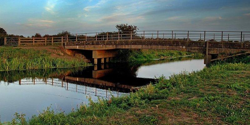 Bridge at Muchelney (3612)