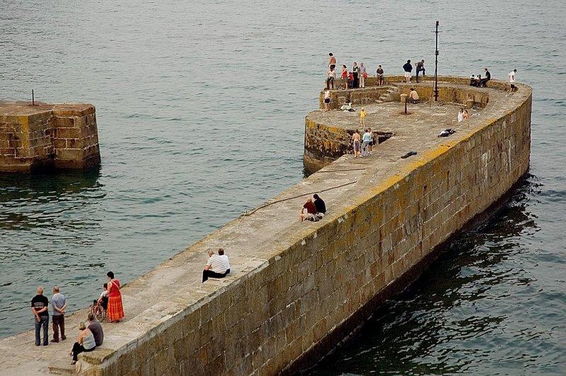 The Pier, Charlestown, Cornwall