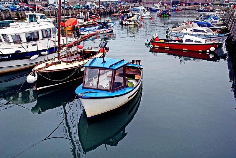 Inner harbour, West Bay (5730)