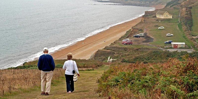 Walking the S.W. coastal path